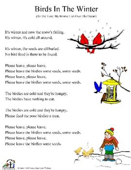 Birds in the Winter: Song
