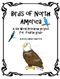 Birds of North America Science Project