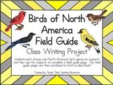 Birds of North America Field Guide Project ~ Create a Class Book!