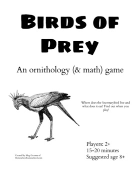 Birds of Prey: An Ornithology (& Math!) Game for Ages 8+