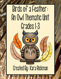Birds of a Feather: An Owl Thematic Unit Grades 1-3