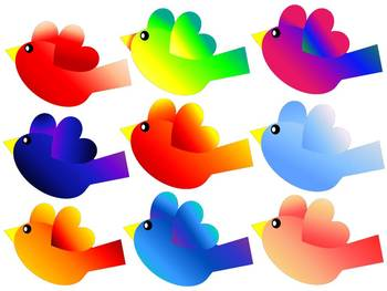 Birds of a Feather CLIP ART