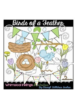 Birds of a Feather Clipart Collection
