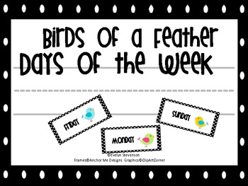 Birds of a Feather Days of the Week