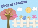 Birds of a Feather Diphthong Game au and -aw