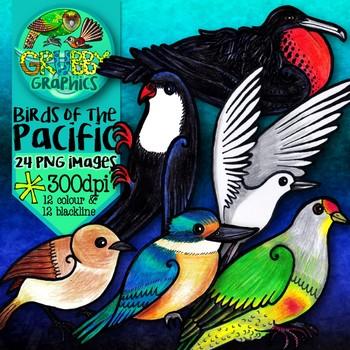 Birds of the Pacific {Clip Art}