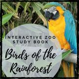 Birds of the Rainforest: Interactive Zoo Study Book