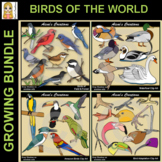 Birds of the World Growing Bundle