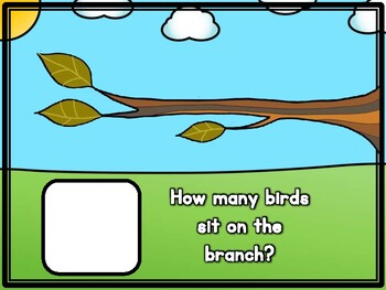 Birds on a Branch Counting and Number Correspondence Activity