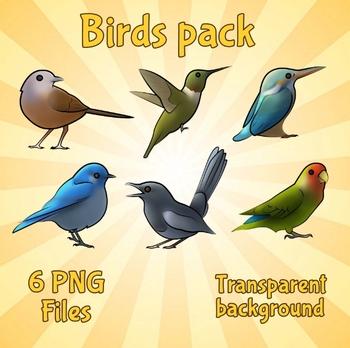 Birds Clip Art Pack