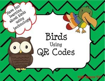 Birds, Birds, Birds using QR Codes