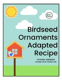 Birdseed Ornaments Adapted Recipe