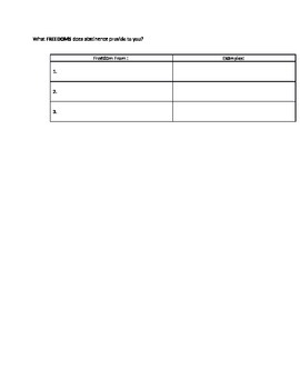 Birth Control Options Student Notes Sheet