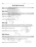 Birth Defect Symptom Scenario and Question Worksheet for Child Development