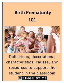 Birth Prematurity 101