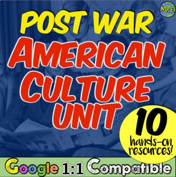 Birth of American Culture Unit: 1950s & 1960s Suburbia, Baby Boomers, GI Bill!