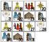 Birth of Jesus Calendar pieces. Preschool-KDG Bible bullet