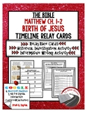 Birth of Jesus Timeline Activities (Paper & Google) Matthew 1-2