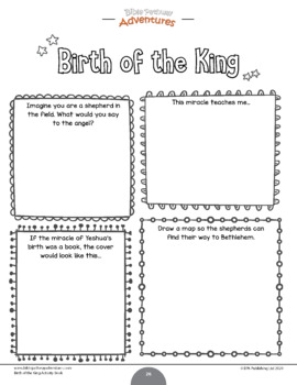 FREEBIE Birth of The King Activity Pack