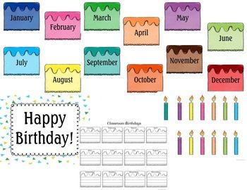 Birthday Bulletin Board