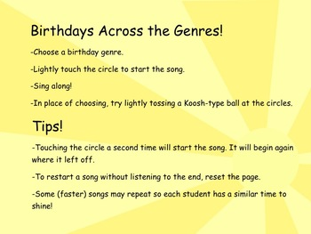 Birthday Across The Genres Sing Along!