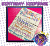 Birthday Flip Book