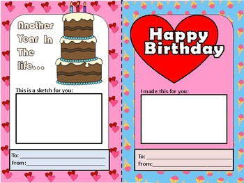 Birthday Art Cards