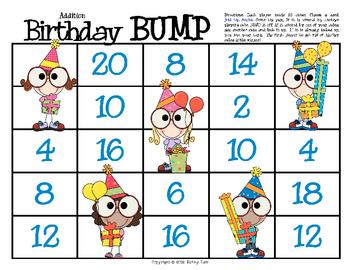 Birthday BUMP -- Adding Doubles