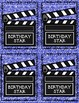 Birthday Backstage Pass Pack--Posters, Graphing Activities & Brag Tags