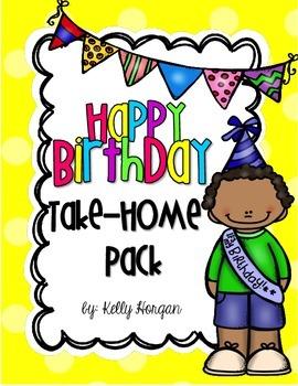 Birthday Bag - Take Home Set