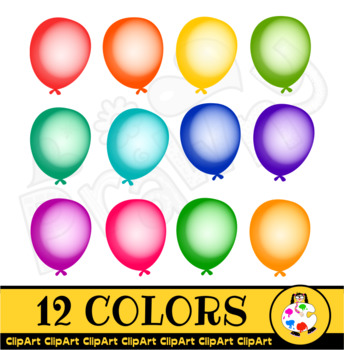 Birthday Balloon Clip Art