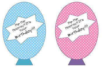 Birthday Balloon DieCut