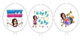 Birthday Balloon Pencils Template Great for Bitmoji!