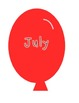 Birthday Balloon Set {FREEBIE}