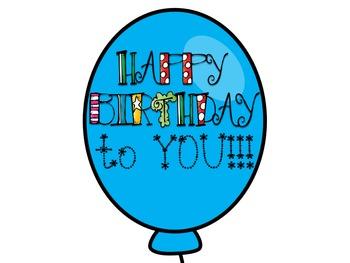 Birthday Balloons!!