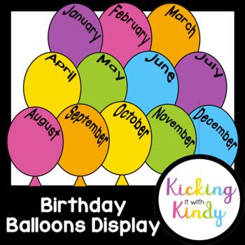 Birthday Display   Balloons
