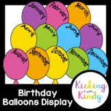 Birthday Display | Balloons