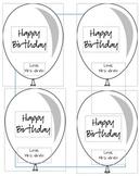 Birthday Balloons Giveaways