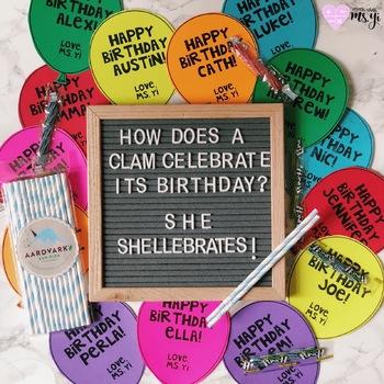 Birthday Balloons Treats