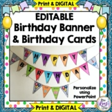Birthday Banner for your Birthday Display (Editable in PPT)