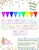 Birthday Banner Board
