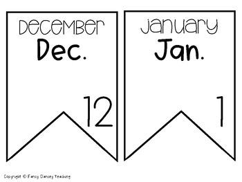 Birthday Banner (Calendar Banner)