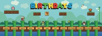 Birthday Banner Display