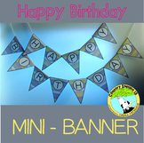 Birthday Banner & Display