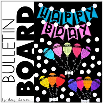 Birthday Banner and Bulletin Board Set