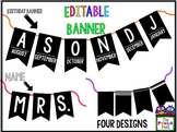Birthday Banner with Editable Banner