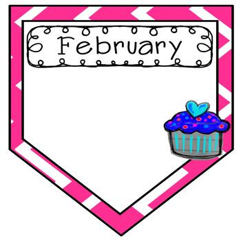 Birthday Bulletin Board {Chevron}