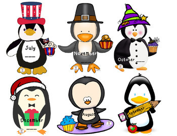 Birthday Banners/Posters - Penguin Theme