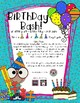 Birthday Bash - An Adding and Subtracting Cover Game