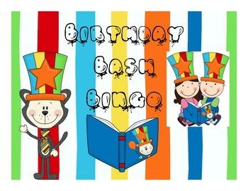 Birthday Bash Bingo